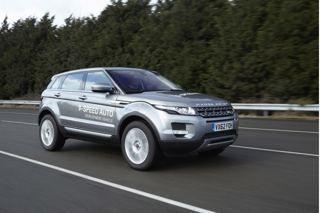 Land Rover Range Rover Evoque fitted with ZF 9HP nine-speed automatic transmission