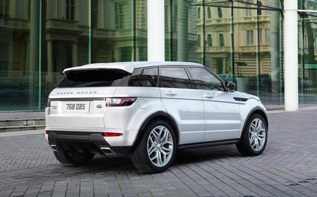 2016 land rover range rover evoque revealed with led. Black Bedroom Furniture Sets. Home Design Ideas