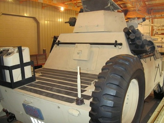 Land Rover Series III Armored Patrol Car - image: eBay Motors