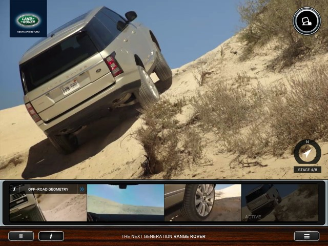 Land Rover Trail Less Traveled iOS App