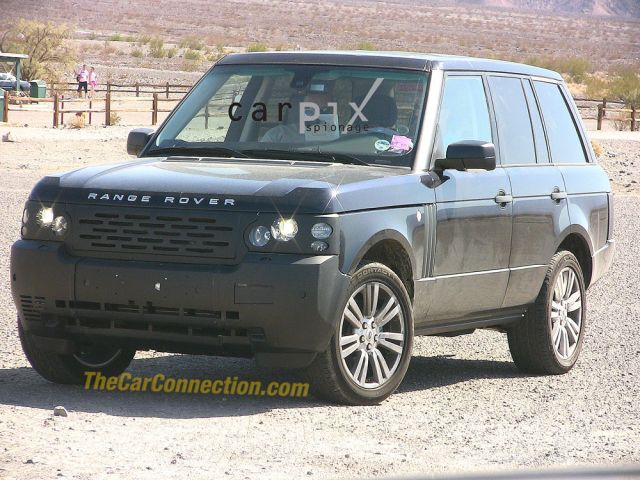 2010 Land Rover Range Rover spy shot