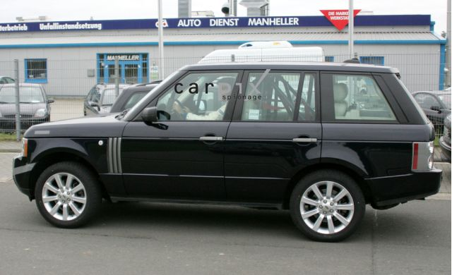 2010 Land Rover Range Rover spy shot