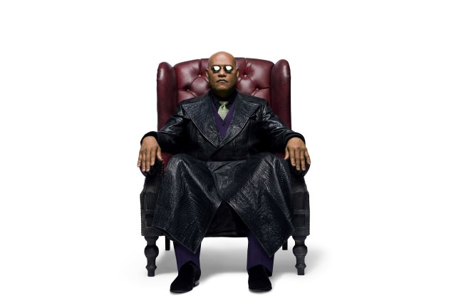 Laurence Fishburne returns as Morpheus from the Matrix for Kia's 2014 Super Bowl ad