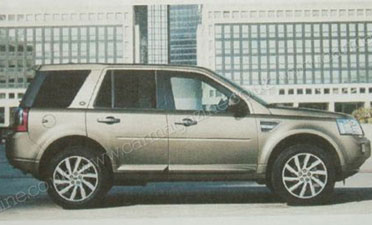 Leaked: 2011 Land Rover LR2