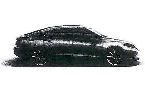 Leaked image of next-gen Saab 9-3. Image via SvD.