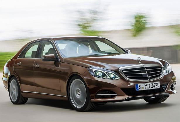 Leaked images of the 2014 Mercedes-Benz E Class