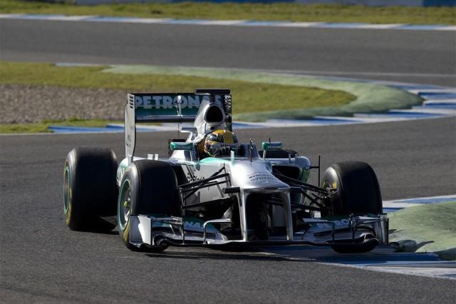 Lewis Hamilton in the Mercedes AMG Petronas W04 - image: Mercedes AMG Petronas