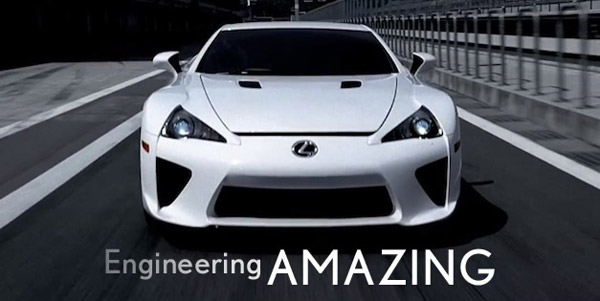 Lexus Engineering Amazing campaign