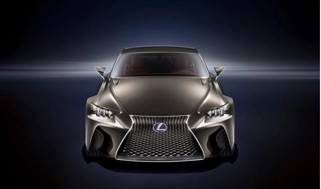 Lexus LF-CC coupe concept