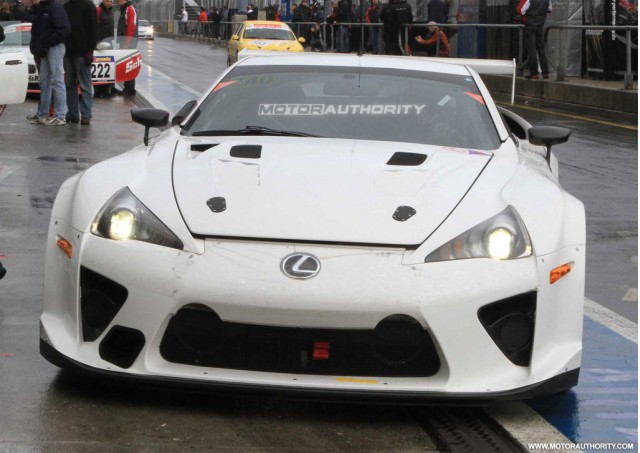 Lexus LFA Nurburgring 24 Hours race car