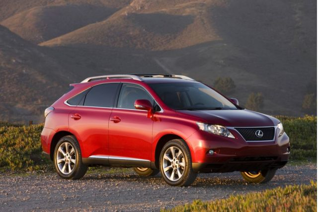 2010 lexus rx 350 review ratings specs prices and photos the car connection. Black Bedroom Furniture Sets. Home Design Ideas