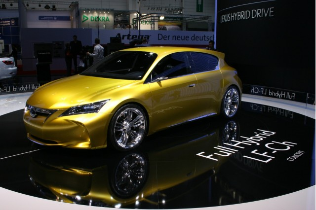 2009 Lexus LF-Ch concept at the 2009 Frankfurt auto show