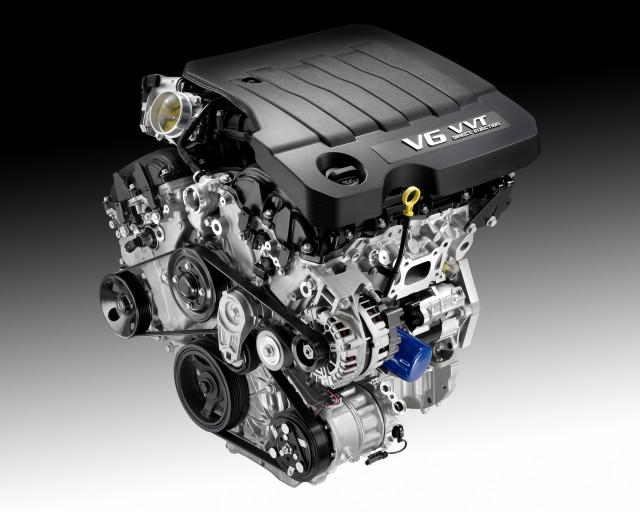 LFX V-6 engine for 2012 Buick LaCrosse