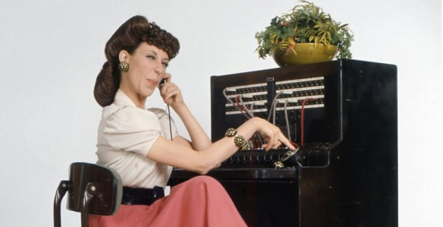 Lily Tomlin as Ernestine the operator