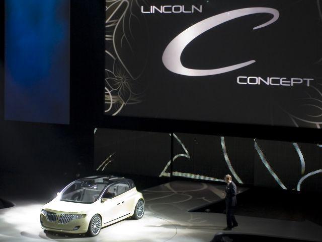 Lincoln Concept C Reveal - Detroit