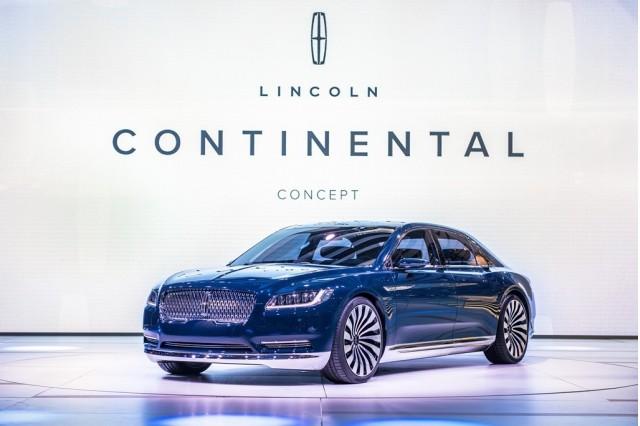 Lincoln Continental concept, 2015 Shanghai Auto Show