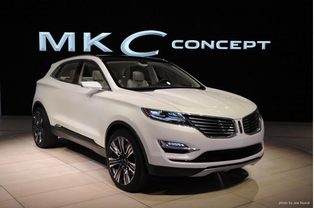 Lincoln MKC Concept, 2013 Detroit Auto Show