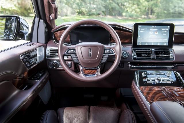 2019 Lincoln Navigator L in Black Label Destination trim