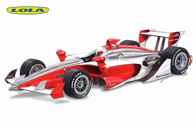 Lola 2012 IndyCar prototype proposal