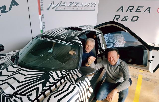 Loris Bicocchi (left) and Luca Mazzanti