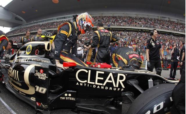 Lotus at the 2012 Formula 1 Canadian Grand Prix
