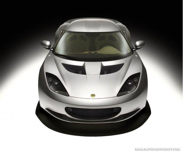 lotus evora studio front off