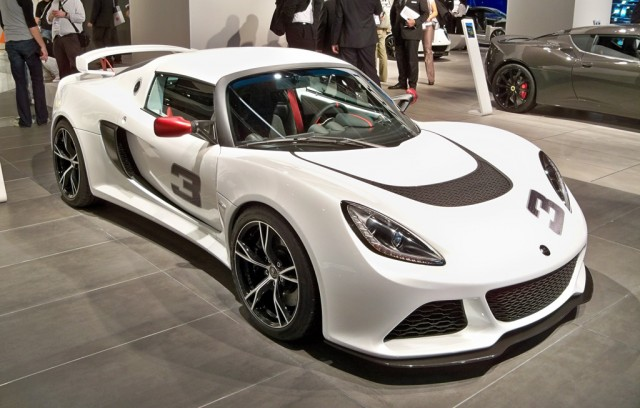 2012 Lotus Exige S live photos