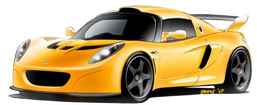 Lotus Sport's new Exige GT3 Concept
