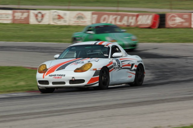 Luke Oxner's Spec Boxster race car