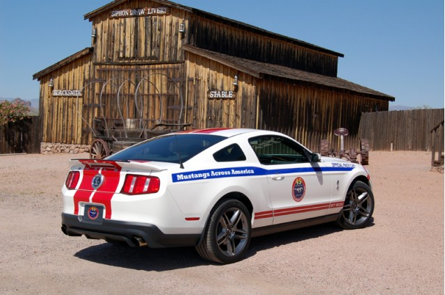 2010 shelby gt500 to pace mustangs across america 45th for Cross country motor club phone number