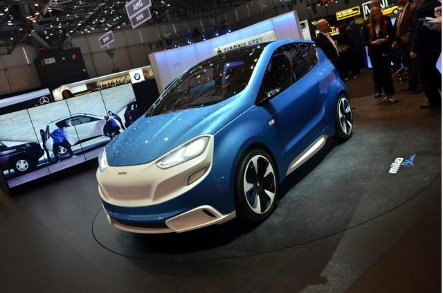 Magna-Steyr Mila concept - 2014 Geneva Motor Show