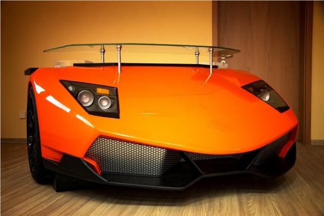 Manufacture RETRO's Lamborghini Unique Racing Desk