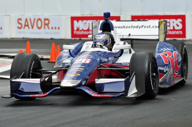 Marco Andretti - Anne Proffit photo