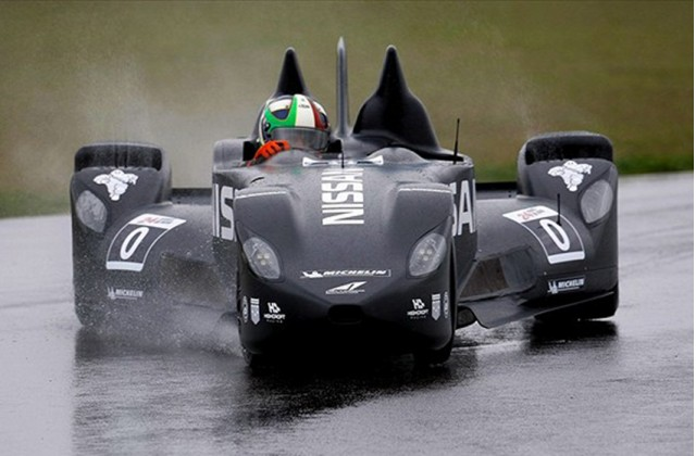 Marino Franchitti tests the Nissan DeltaWing - Highcroft Racing photo