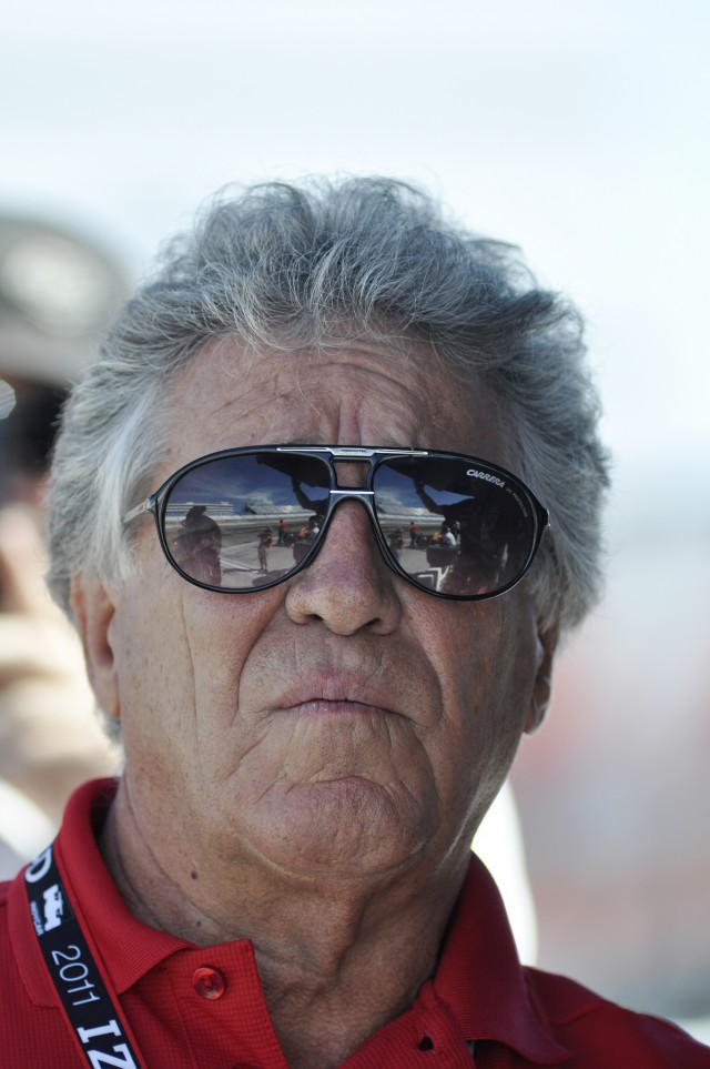 Mario Andretti brought Newman/Haas Racing its first successes - Anne Proffit photo