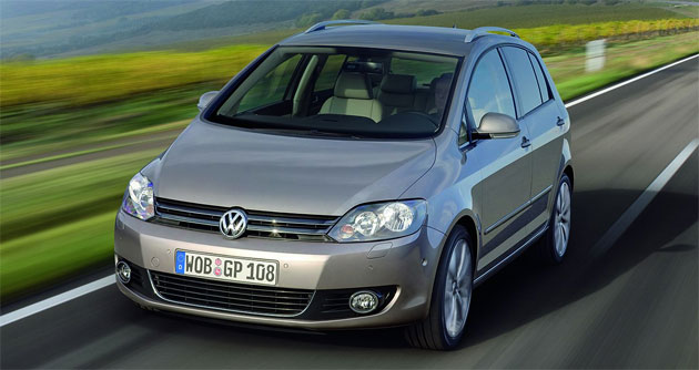 New Golf Plus will retain the body of the current Golf but pick up the face of the Mark VI model