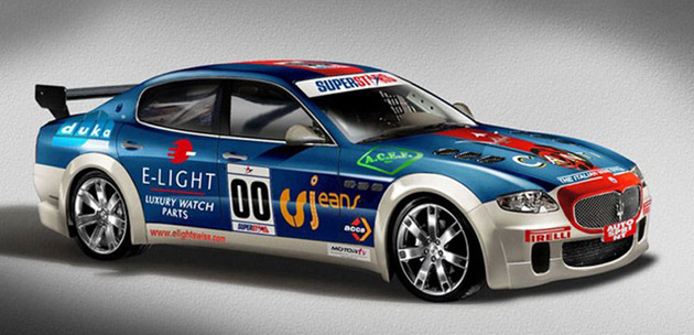Swiss Team Unveils Maserati Quattroporte Race Car
