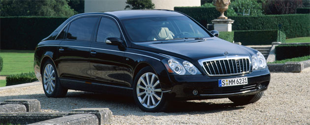 The 2008 Maybach 62S will depreciate a total of £129,207 ($182,800) in its first year of ownership
