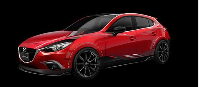 Mazda 3 Sport Mazda Design concept, 2014 Tokyo Auto Salon