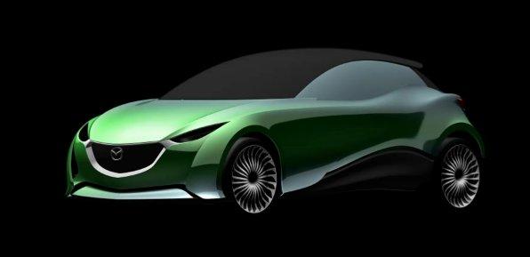 Mazda Kodo-themed hatchback preview