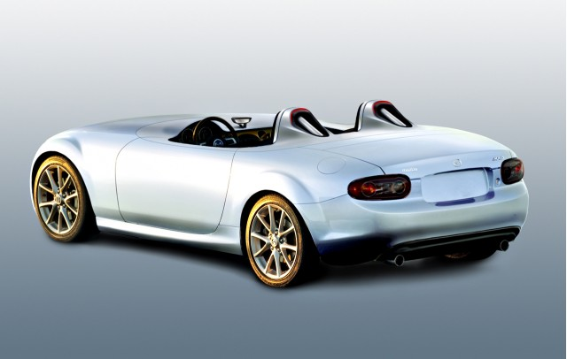 Mazda MX-5 Superlight concept, 2009 Frankfurt Auto Show