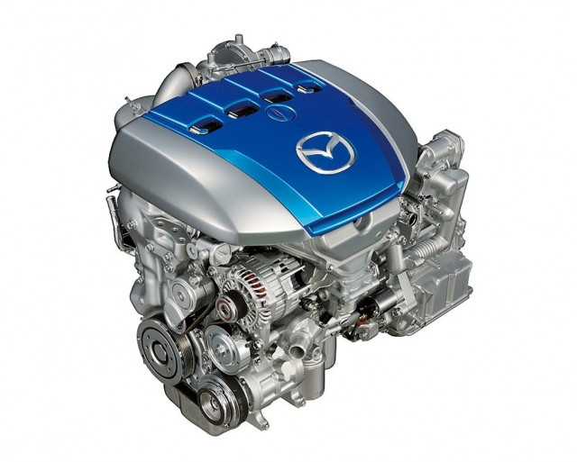 Mazda SKY-G gasoline direct injection engine