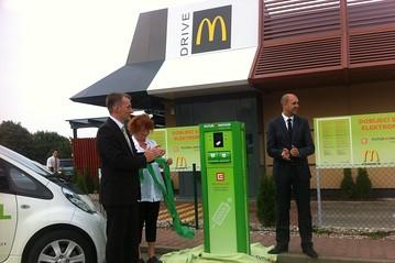 McDonalds' Charging Station