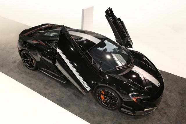 McLaren 675LT JVC Kenwood concept - 2016 Consumer Electronics Show