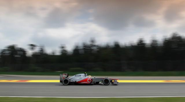McLaren at the 2012 Formula 1 German Grand Prix