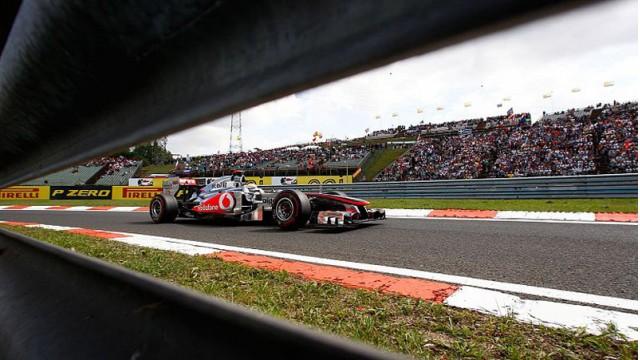 McLaren at the 2012 Formula 1 Hungarian Grand Prix