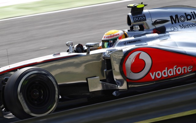 McLaren at the 2012 Formula 1 Hungarian Grand Prix