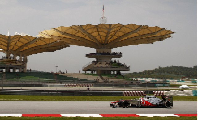 McLaren at the 2012 Formula 1 Malaysian Grand Prix