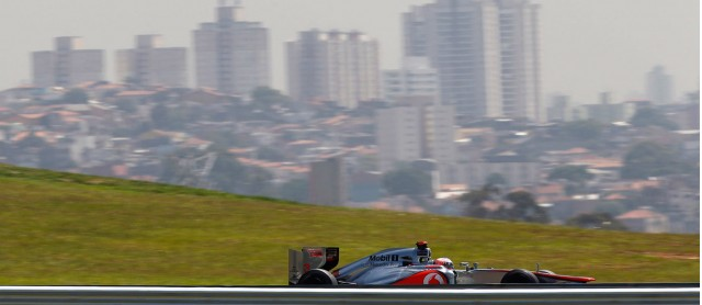 McLaren at the 2013 Formula One Brazilian Grand Prix