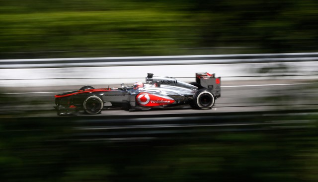McLaren at the 2013 Formula One British Grand Prix